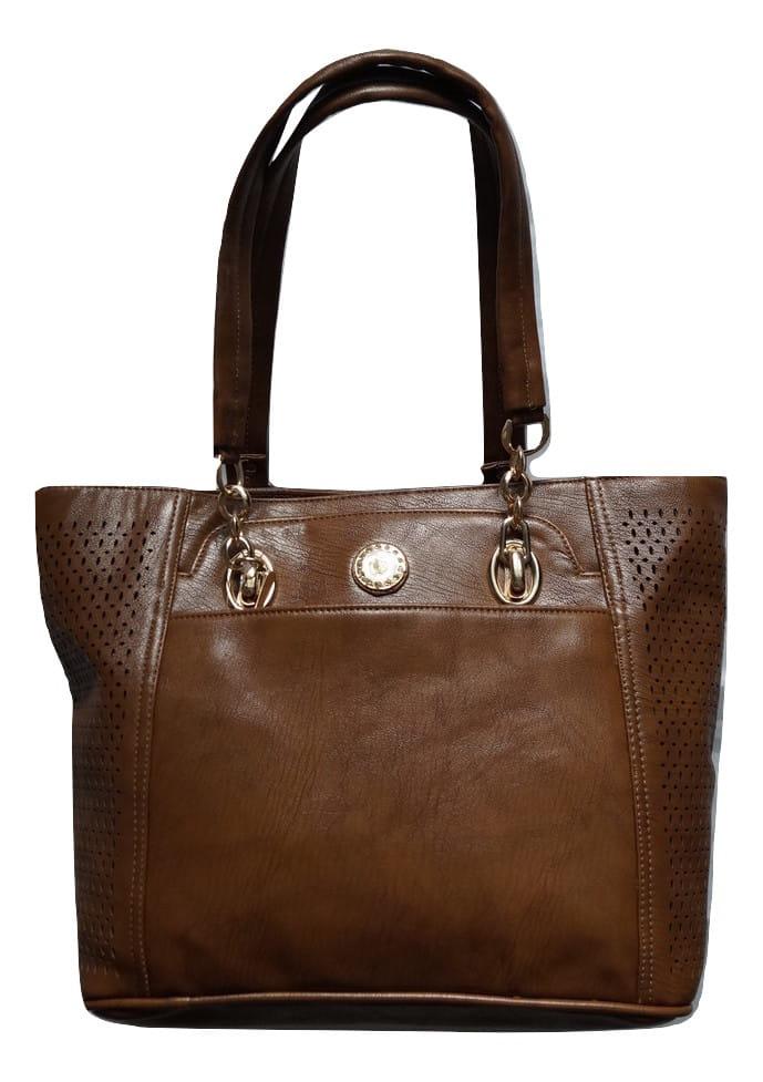 88e0def2dd5a8b Chikoo Braun Damen Handtasche Shopper Handtasche Elegant Tasche ...